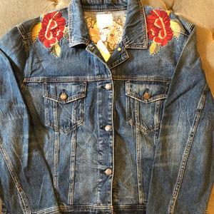 American Eagle denim jacket XL